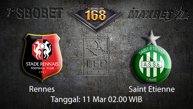 BOLA88 - PREDIKSI TARUHAN BOLA RENNES VS SAINT ETIENNE 11 MARET 2018 ( FRENCH LIGUE 1 )