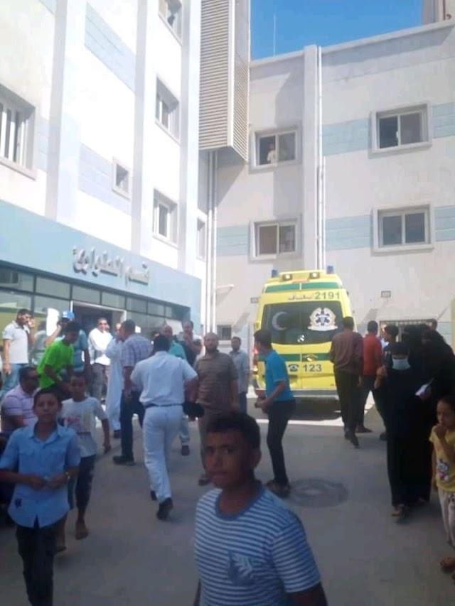 داخل امستشفى برج البرلس