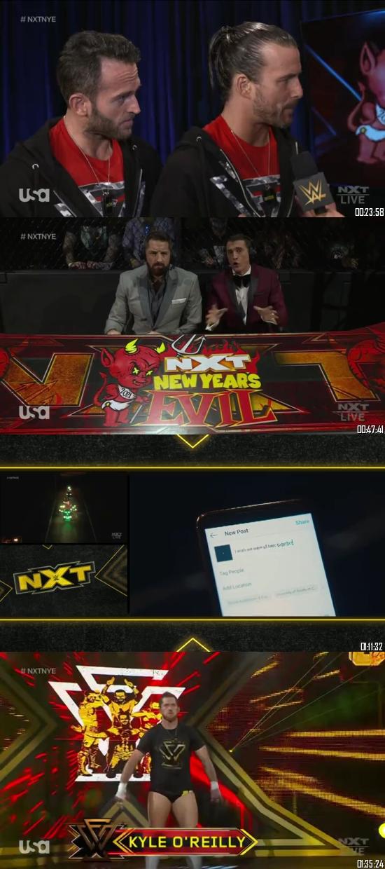 WWE NXT 06 January 2021 WEBRip 480p 350MB