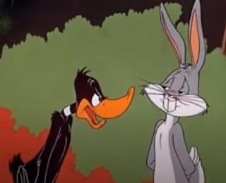 Bild Videoclip Bugs Bunny und Duffy.