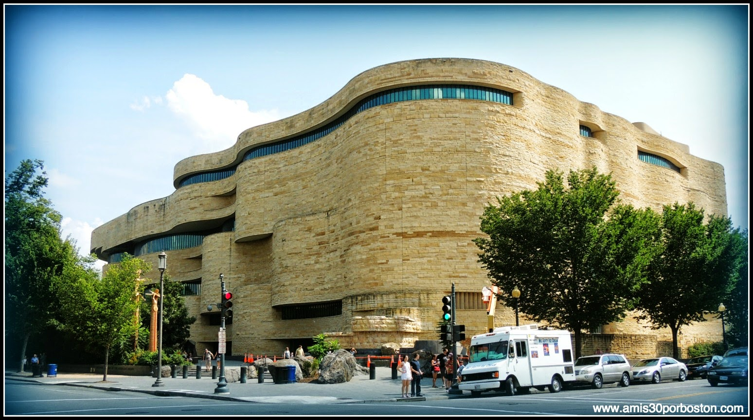 National Museum Of The American Indian en el National Mall de Washington D.C.