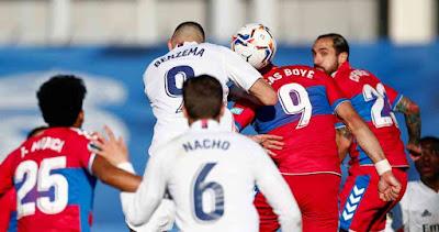 ملخص واهداف مباراة ريال مدريد والتشي (2-1) الدوري الاسباني