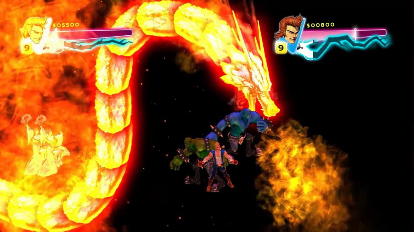 Double Dragon Neon Xbox 360 The Game Hoard
