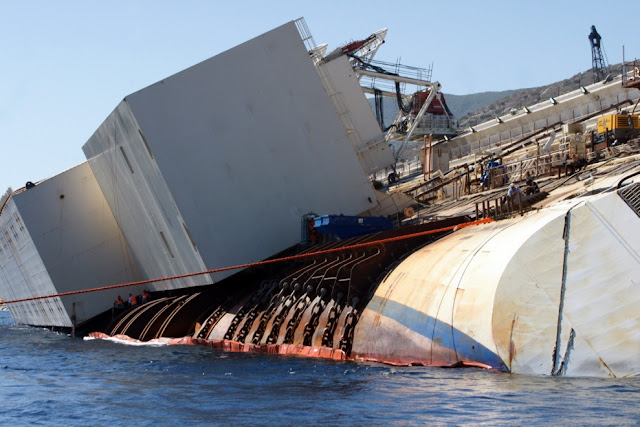 Costa Concordia: the recovery of Cruise ship