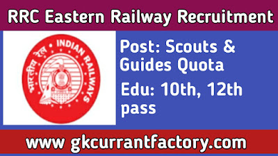 RRC Eastern Railway Recruitment,