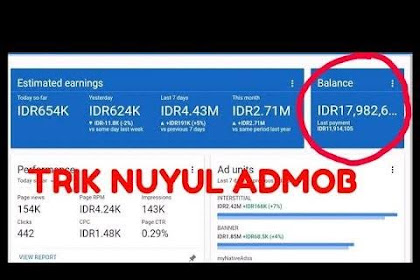 Tutorial Nuyul Admob Aman Anti Banned 2020