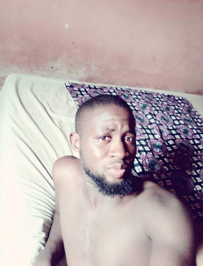 I Wish I Can Find Love In My Poverty – Nigerian Man Cries Out As He Shares Photos Of His Apartment
