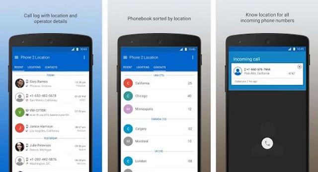 أفضل و أحسن التطبيقات أندرويد لمعرفة مكان المتصل بك على هاتفك بدقة