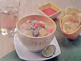 Gambar Resep Soto Betawi Gurih