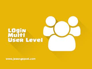 Tutorial Web Lanjutan-Login Multi User Level Dengan mysqli_query