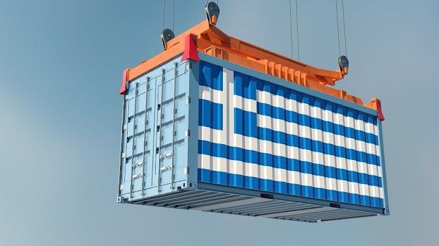 ΕΛΣΤΑΤ: Αυξήθηκαν 51,1% οι εξαγωγές τον Μάιο
