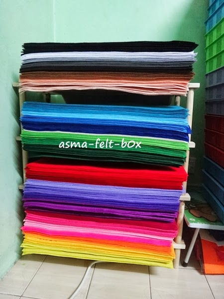 Polyester Felt 1/4 meter for sale