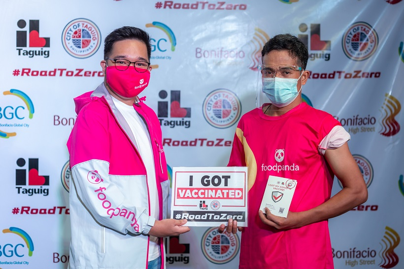 Foodpanda campaigns for safer and protected service through community vaccination