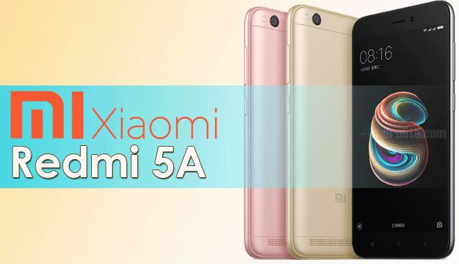 Xiaomi kembali meluncurkan sebuah smartphone entry Update Harga Xiaomi Redmi 5A Terbaru 2018 dan Spesifikasi Lengkap