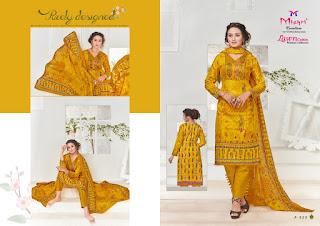 Mishri lawn Cotton 3 lawn dress catalog wholesaler