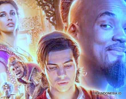 Lirik A Whole New World dari Aladdin