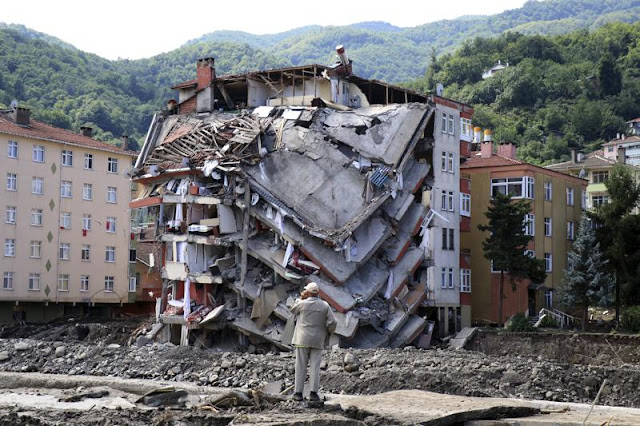 Death toll rises to 77 from Turkey floods; 47 reported missing
