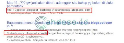 Mencari Blog Zombie dari Forum Tanya Jawab