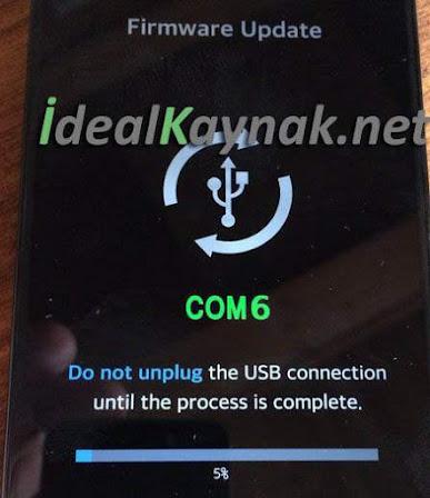 LG G3 Yazılım Yükleme