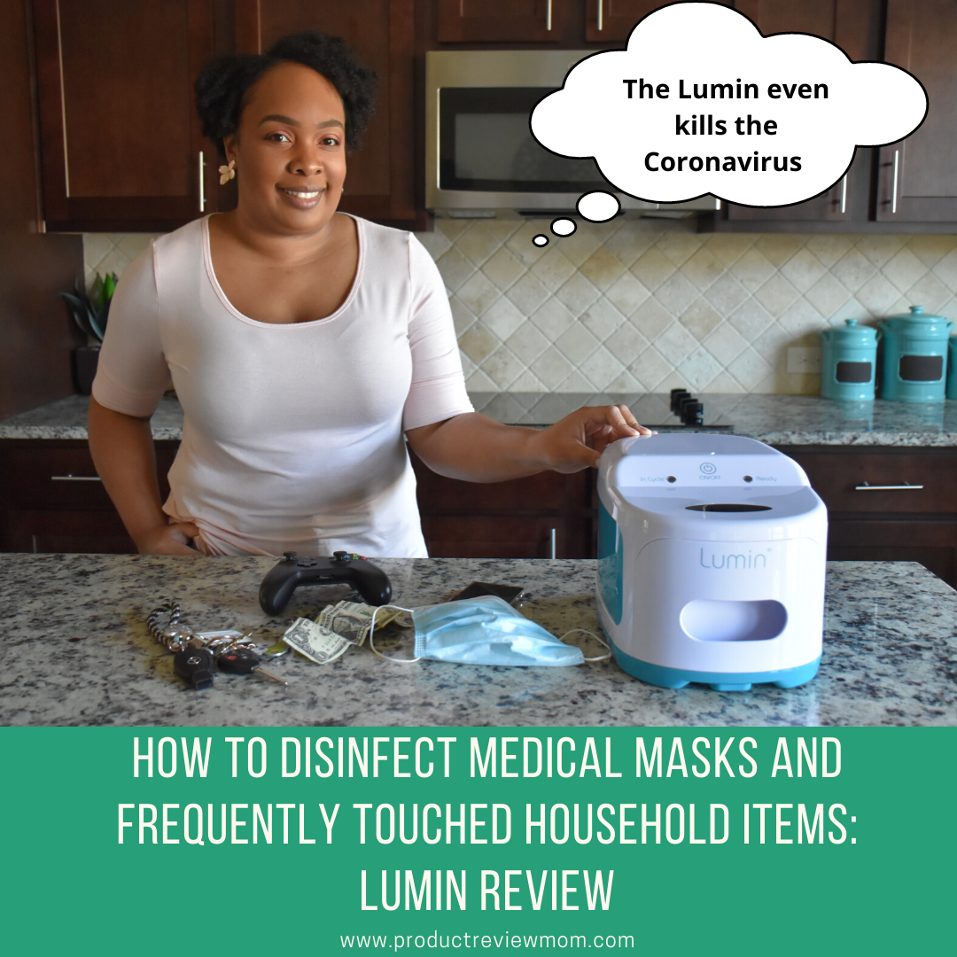 How to Disinfect Medical Masks and Frequently Touched Household Items: Lumin Review