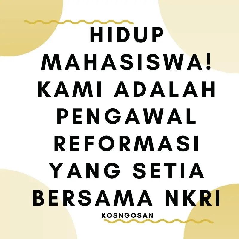kata bijak mahasiswa aktivis