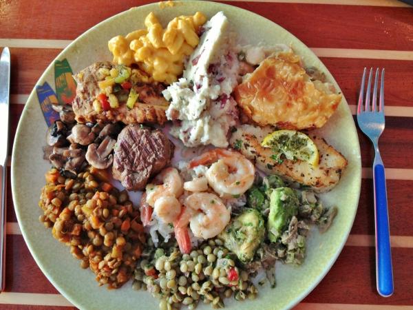 Mission: Food: Disney Cruise Line: Cabanas