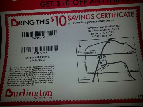 08328986f72 Burlington Coat Factory Coupons Printable