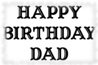 Birthday cards: Happy Birthday family