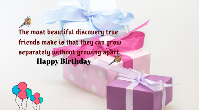 Birthday Image with Quotes