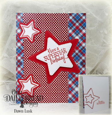 Our Daily Bread Designs Stamp Set: Superstar, Our Daily Bread Designs Paper Collection: Old Glory, Our Daily Bread Designs Custom Dies: Double Stitched Stars, Sparkling Stars