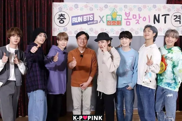 BTS's RUN BTS Collab with The Game Caterers
