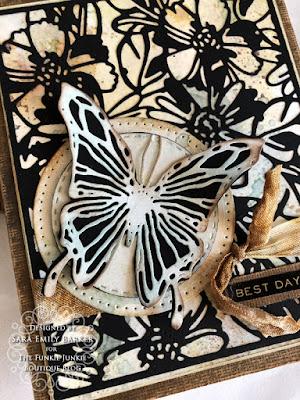 Sara Emily Barker https://sarascloset1.blogspot.com #timholtz #sizzix #flowery #scribblybutterflies 3
