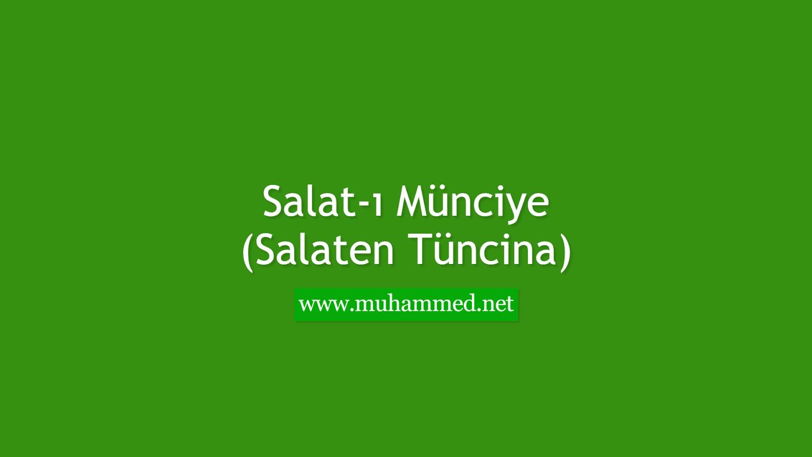 Salat-ı Münciye (Salaten Tüncina)