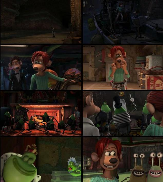 Flushed Away 2006 Dual Audio Hindi 720p HDTV