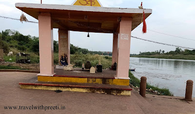 Tilwara Ghat - The beautiful ghat of the Narmada River.