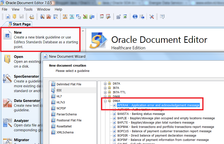 Java / Oracle SOA blog: Processing EDIFACT documents in