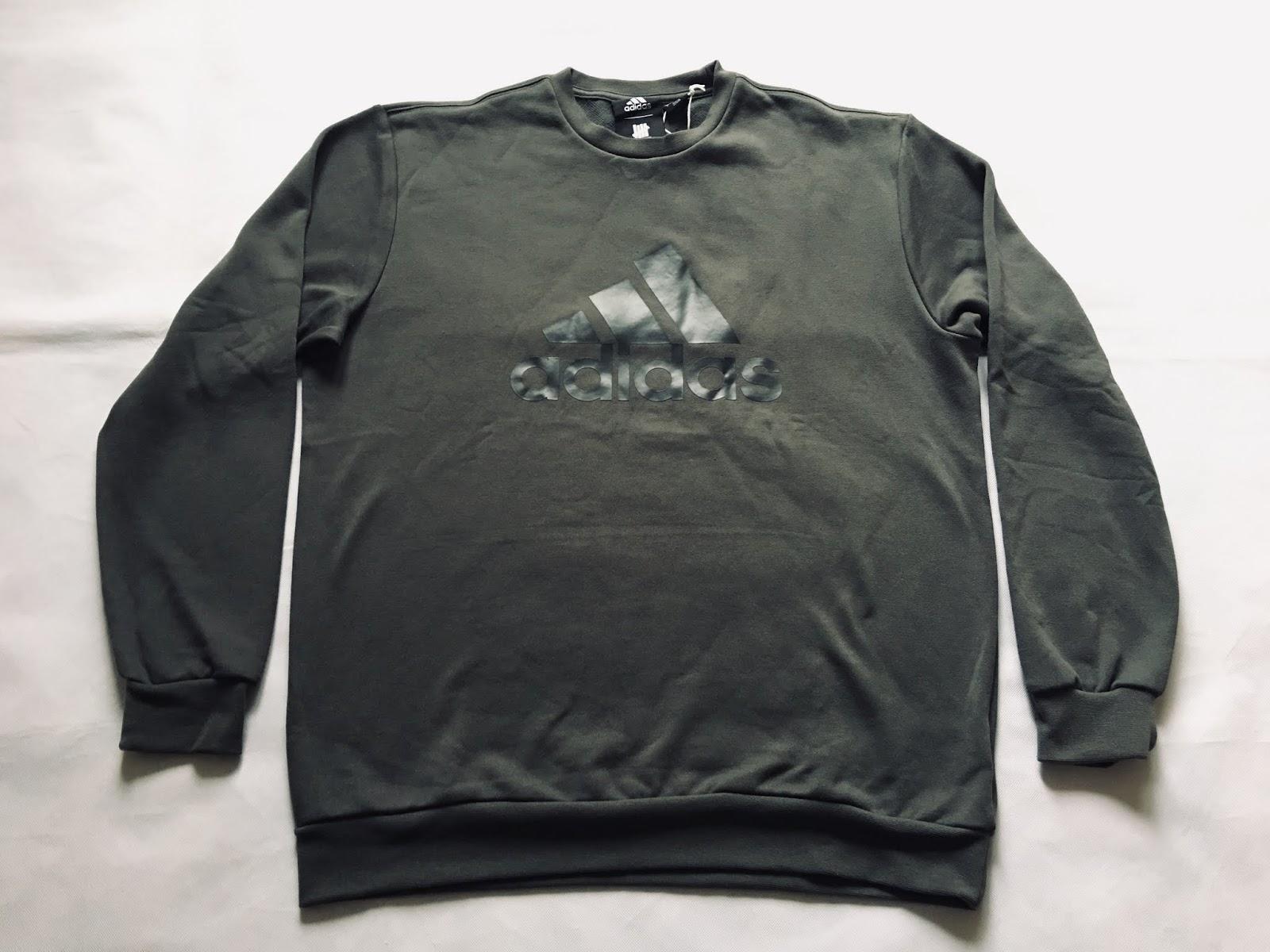 133a78a56707a6 Adidas x Undefeated Consortium Running Crewneck Sweatshirt DN8780