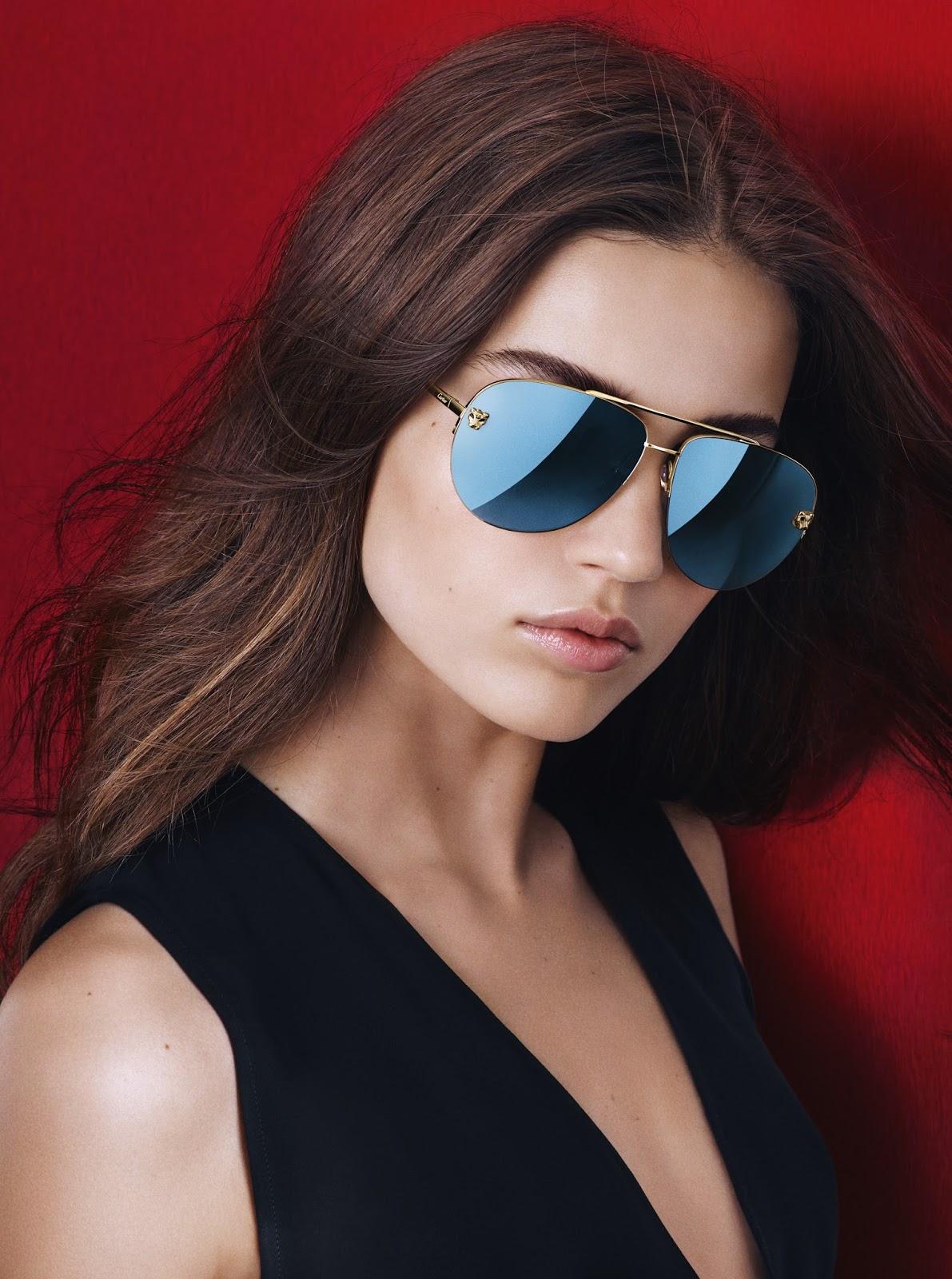 Cartier's Panthère De Cartier Sunglasses