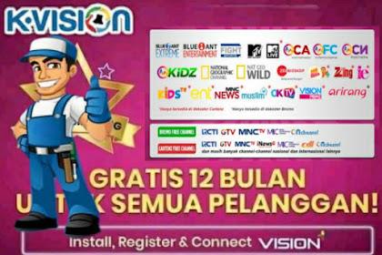 Update! Cara Mendapatkan Paket Bintang K Vision dengan Mudah