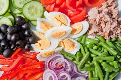 Receta de Ensalada de Atún y Verduras