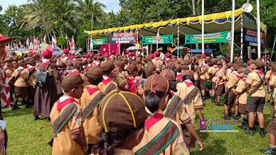 36 Gudep Butuh Ikuti Pesta Siaga Kwaran Ranting Butuh
