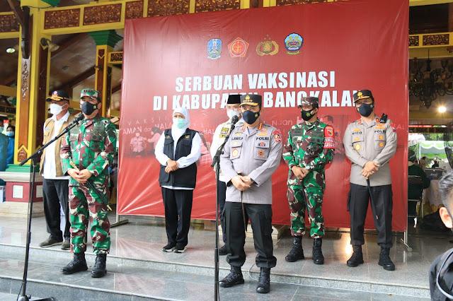 Vaksinasi Covid Bangkalan
