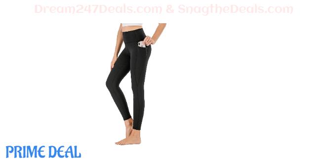 YUECAIDI Women's High Waist Yoga Pants  50%OFF