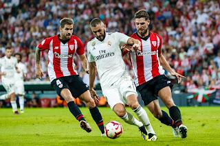 ملخص كامل مباراة ريال مدريد واتلتيك بلباو مباشر