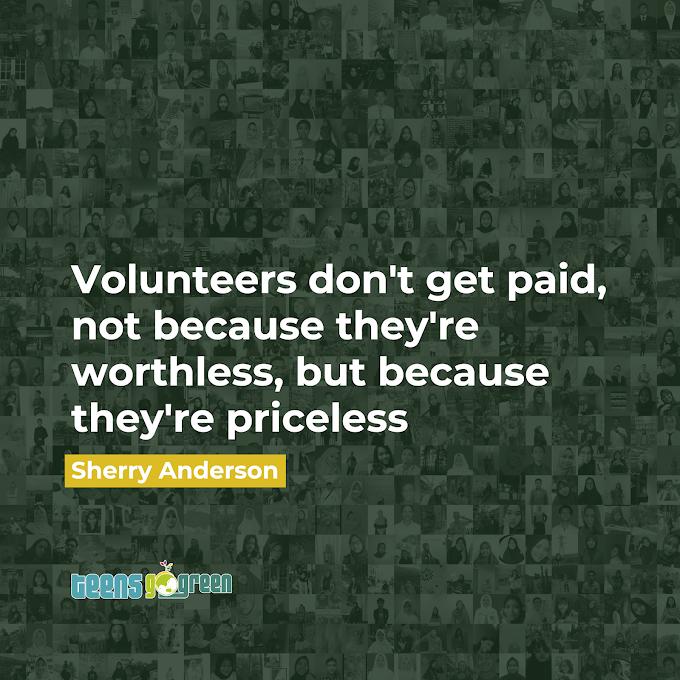 Selamat Merayakan Hari Relawan Sedunia 2020