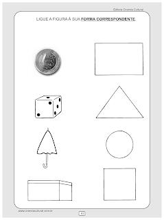 atividades matematica forma correspondente