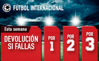 sportium Fútbol: Combinadas 'con seguro' hasta 26 mayo 2019