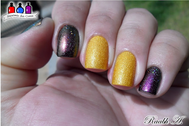 Unhas, esmalte, Multichrome, BK, OPI, You're so Flippy-Floppy, Raabh A., Texturizado, Liquid Sand, Brazil, Beach Sandies