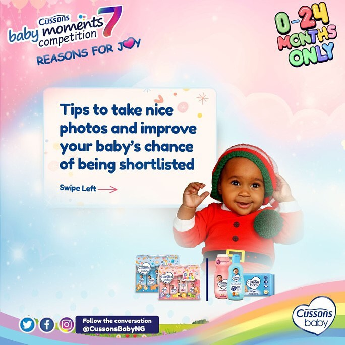 Cussons Baby Moments Competition Guidelines 2020 | CBM 7
