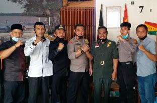 Jaga Harmonisasi Lintas Lembaga dan Organisasi, Wakapolres Sambangi DPD LMR Inhil